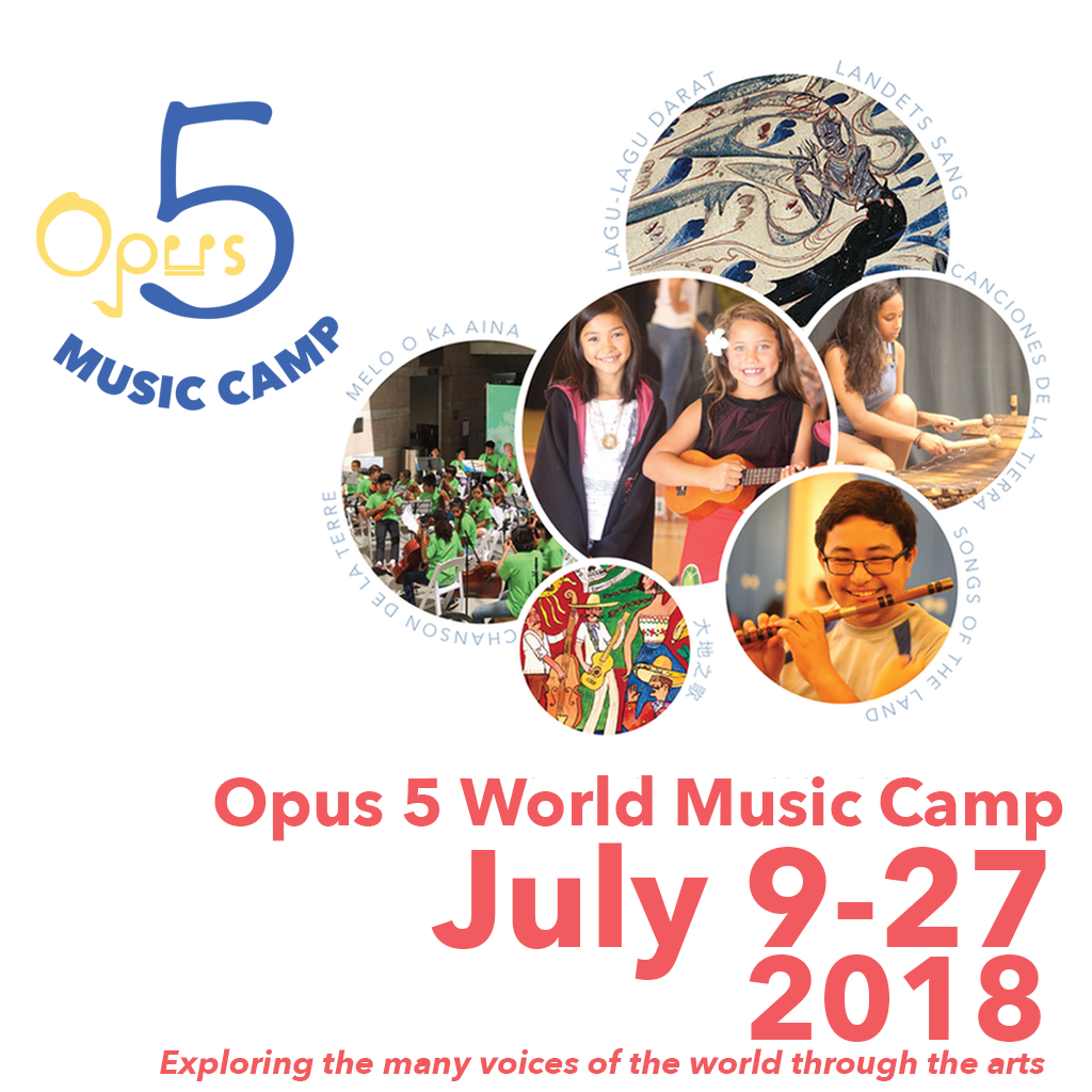 Opus 5 Music Camp - July 9 - 27